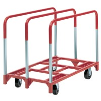 "Raymond Products Panel Mover w/ 5"" Standard Phenolic Casters - Two Fixed"
