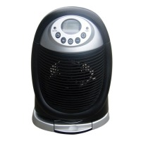 OPTIMUS H-1411 Digital Oscillating Fan Heater Black 750 & 1500W