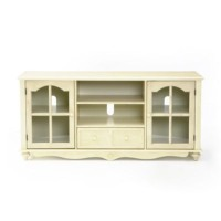 Southern Enterprises Tv Stand: Southern Enterprises Coventry TV Stand - Antique White