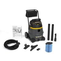 WORKSHOP Wet Dry Vacs WS1400CA Heavy Duty Shop Vacuum w Cart 14G 6.0 Peak HP