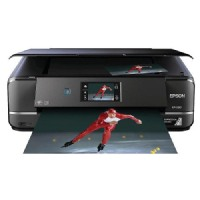 Epson Multifunction Inkjet Printer with Lcd Display Screen - Black (XP-960)