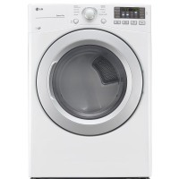 LG Dryers 7.4 cu. ft. Electric Dryer in White