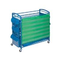 Honey-Can-Do Kids Storage Unit: Honey-Can-Do Kids All-Purpose Teaching Cart - Blue