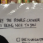 Sign about harassing female bartenders deserves a standing ovation