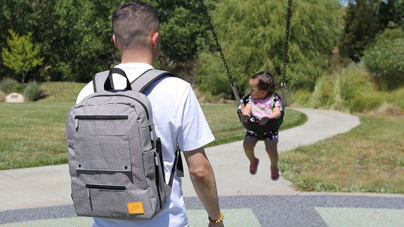 Kickstarter has a 'Daddy Bag' for men who are too cool for diaper bags