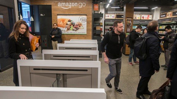 Amazon's checkout-free experiment could come to larger grocery stores
