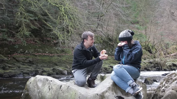 Adorable boyfriend learns how to make engagement ring from scratch for the ultimate proposal