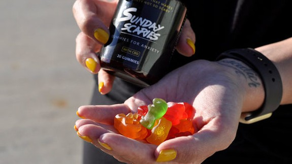 Battle the Sunday Scaries with these CBD gummies that are on sale