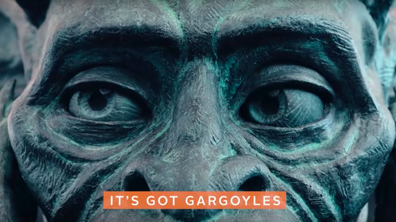 Denver airport leans into conspiracy theories with elaborate gargoyle prank