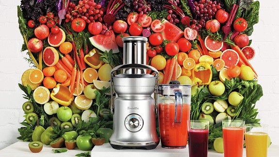 Breville's Juice Fountain juicer is $27 off at Amazon