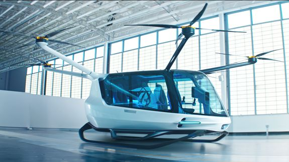 This hydrogen-powered concept air vehicle can provide the accessible transportation of the future — Future Blink