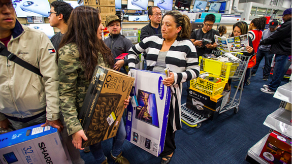 Black Friday loses steam, but crowds should still be gigantic