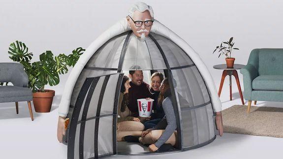 KFC made a $10,000 pod to help you escape the holiday internet chaos
