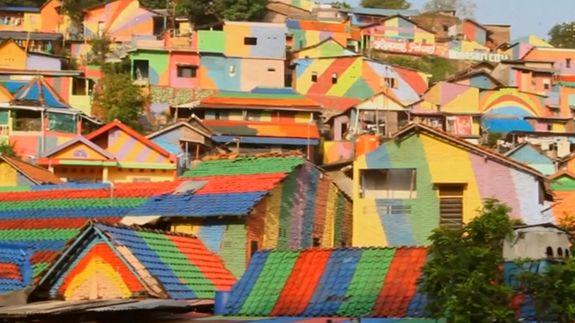 An Indonesian village got a rainbow makeover, now it's an Insta-worthy hot spot