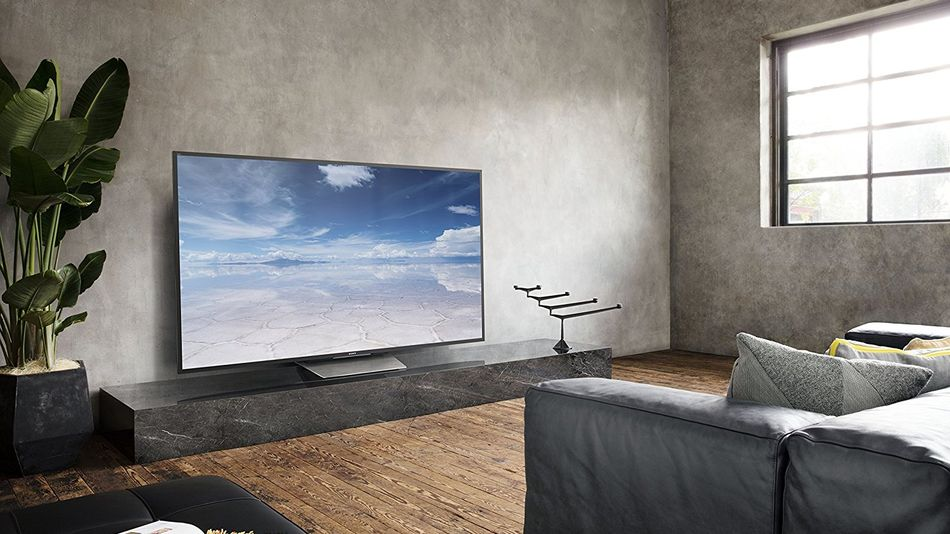 A new TV can totally swing the vibe of the room — perfect for those redecorating for fall.