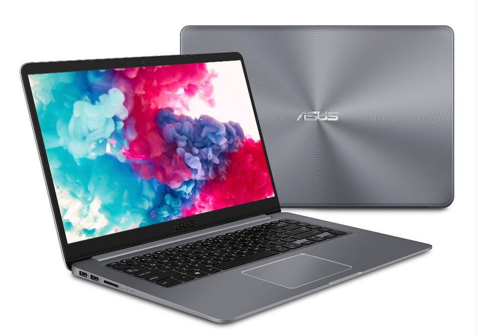 The ASUS VivioBook is light and compact, but still packs a crisp full-size display.