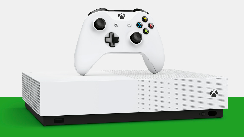 Microsoft dropped the disc-less version of its Xbox One S console this past May.