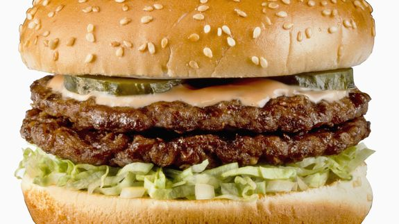 McDonald's and Burger King get graded on their beef. Which one got an F?
