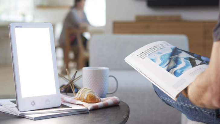 Winter blues got you down? Snag a light therapy lamp on sale.